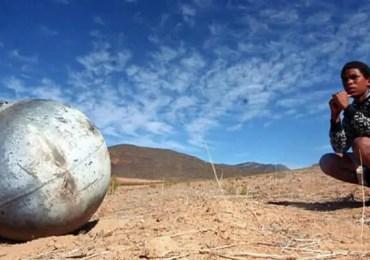 metal sphere in africa