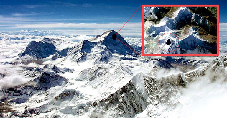 ufo base in himalaya mountains 2