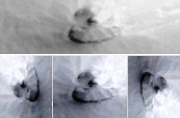 ufo surface of mars