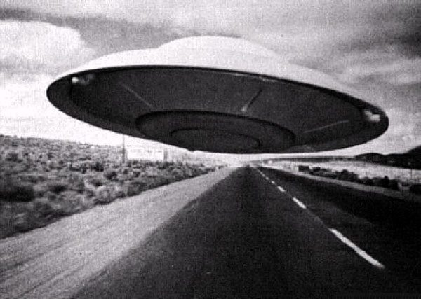 old flying saucer