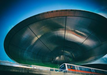ufo follows train