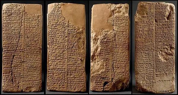 sumerian king list clay