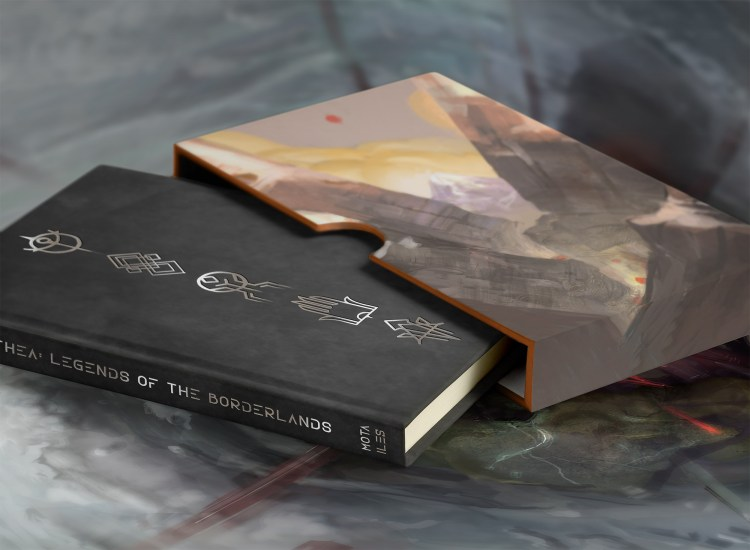 The Deluxe edition of the book.