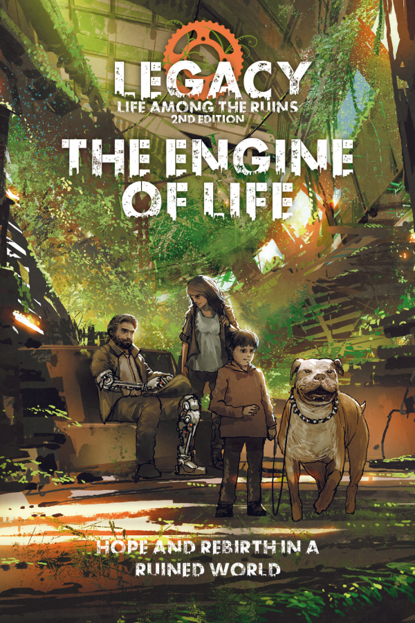 Cover of The Engine of Life