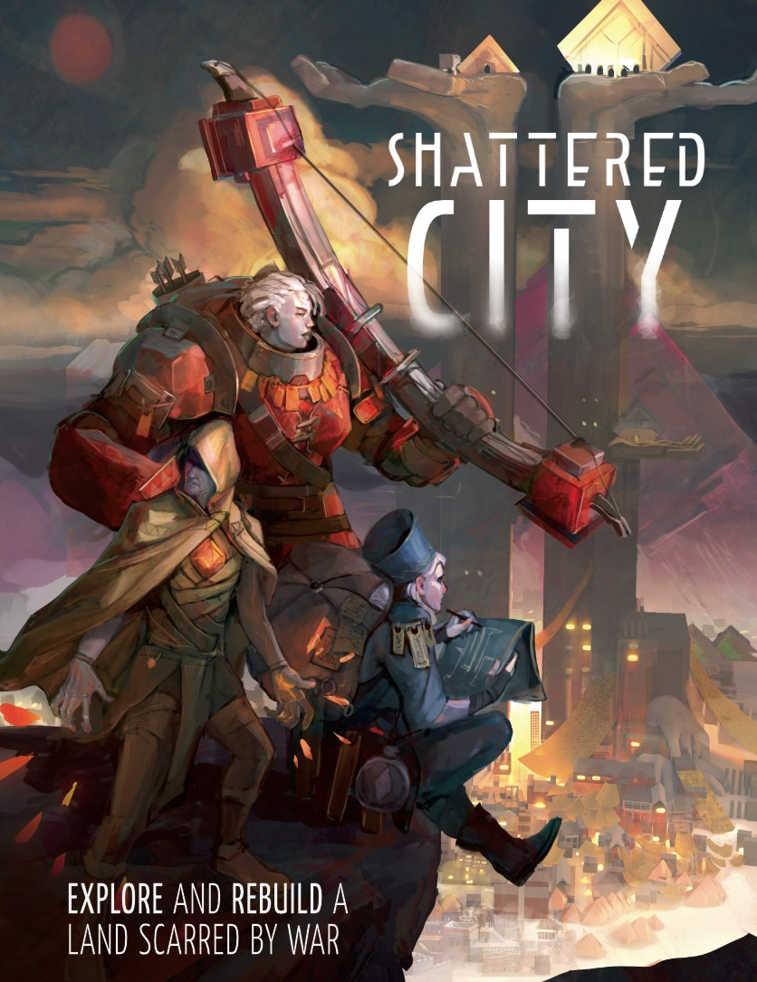 Shattered City cover