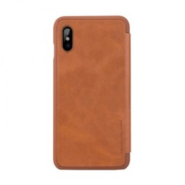 G-Case Business Series Flip Case for iPhone X – Brown