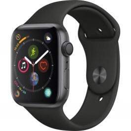 Series 4 40mm Space Gray Aluminum | Black Sport Band
