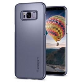 Spigen Galaxy S8(Plus) Thin Fit – Gray Orchid 571CS21675