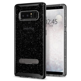 Spigen Galaxy Note 8 Case Crystal Hybrid Glitter Space Quartz