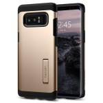 Spigen Galaxy Note 8 Case Tough Armor Maple Gold