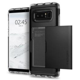 Spigen Galaxy Note 8 Case Crystal Wallet Black