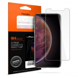 "Spigen iPhone iPhone 11/XR 6.1″ ""Glas.tR SLIM HD"""