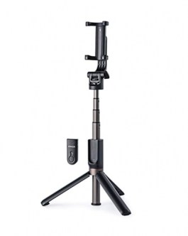Anker Bluetooth Selfie Stick with Tripod and Remote – Black