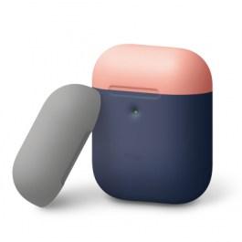 A2 Duo Case elago A2 Duo Case [Body-Jean Indigo/Top-Peach, Medium Grey]