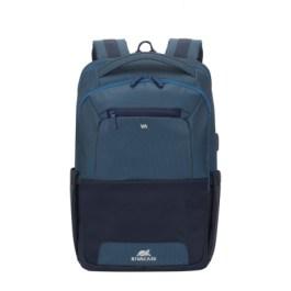 RIVACASE 7767 Steel Blue/Aquamarine Laptop backpack 15.6″