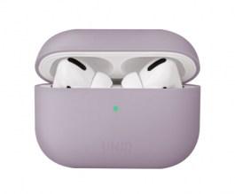 Uniq Lino Hybrid Liquid Silicon AirPods Pro Case – Lilac Lavender