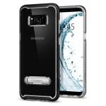 Spigen Galaxy S8(Plus) Crystal Hybrid – Black (SF coated) 571CS21126