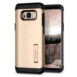 Spigen Galaxy S8(Plus) Tough Armor – Gold Maple 571CS21694