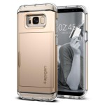Spigen Galaxy S8(Plus) Crystal Wallet – Gold Maple 571CS21117