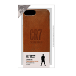 CR7 Leather Case iPhone 6/6s/7/8 Plus_Tan Signature