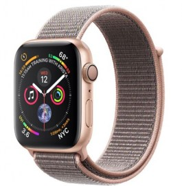 Series 4 40mm Gold Aluminum | Pink Sand Sport Loop