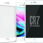Logo PanzerGlass iPhone 6/6s/7/8 Plus White CR7
