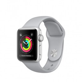 Series 3 GPS, 38mm Silver Aluminum | Fog Sport Band