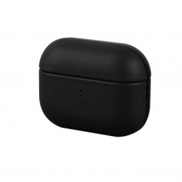 Uniq Terra Geniune Leather AirPods Pro Snap Case – Dallas ( Black )
