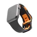 UAG Apple Watch 42/44mm Civilian Strap – Black/Orange