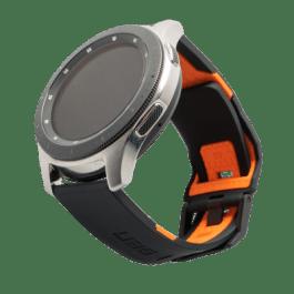 UAG Samsung Watch 46mm Civilian Strap – Black/Orange