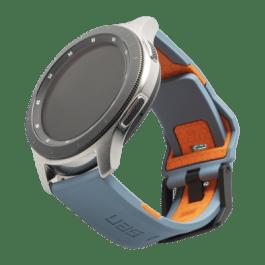 UAG Samsung Watch 46mm Civilian Strap – Slate/Orange