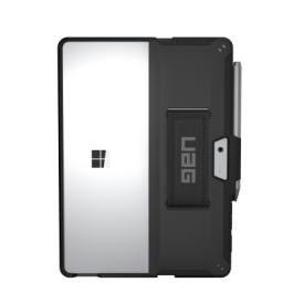 SCOUT SERIES SURFACE GO 2 CASE WITH HANDSTRAP – BLACK