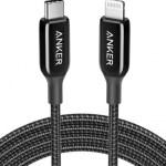PowerLine+ III MFI USB-C to Lightning – Black