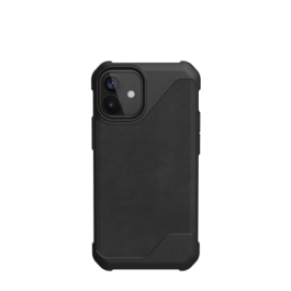 UAG iPhone 12 Mini 5.4 Metropolis LT – Leather Black
