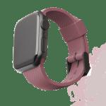 [U] Apple Watch 44/42mm DOT Silicone Strap – Dusty Rose
