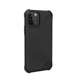 UAG iPhone 12/Pro 6.1 Metropolis LT – Leather Black