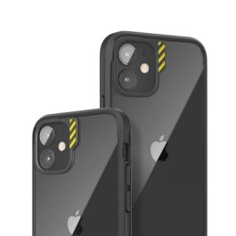 JTLEGEND iPhone 12/Pro 6.1 Hybrid Cushion DX Case – Black