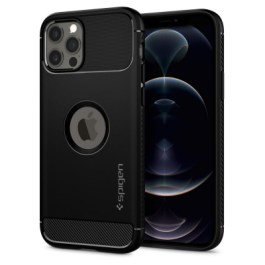 Spigen iPhone 12/Pro 6.1 Rugged Armor – Matte Black