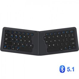 iClever Foldable Wireless Keyboard IC-BK06 [ Included Stand ]