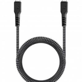 Fibratough3.1 Gen1,USB-C to USB-C Charge&Sync Cable 5GBPS 5A 1.5M – Black