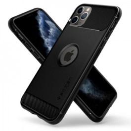 Spigen iPhone 11 Pro Max 6.5″ Rugged Armor – Matte Black
