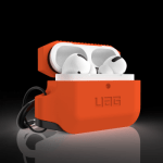 UAG AirPods Pro Silicone Case – Orange/Black