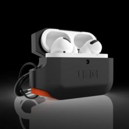 UAG AirPods Pro Silicone Case – Black/Orange