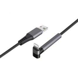 ENERGEA Alutough Edge USB-A to Lightning 1.5m Anti-Microrobial