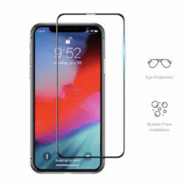 Preserver Anti-BlueLight Glass Screen Protector (0.26 mm , Black) for iPhone XR6.1