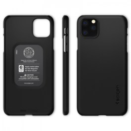 Spigen iPhone 11 Pro Max 6.5″ Thin Fit – Black