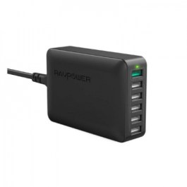 RAVPower RP-PC029 60W 6-Port QC3.0 – Black