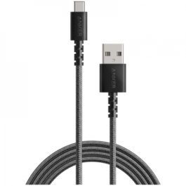 PowerLine Select+ USB-C to USB 2.0 Cable 6ft/1.8m – Black