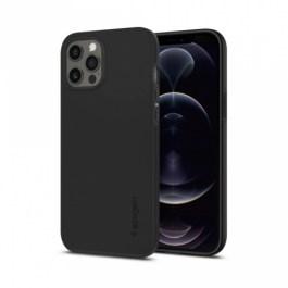 Spigen iPhone 12/12 Pro 6.1 Thin Fit – Matte Black