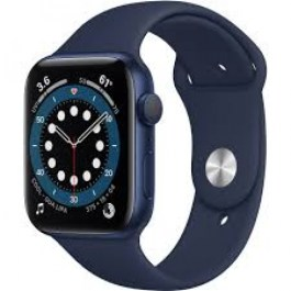 Series 6 40mm  Aluminum Case Deep Navy Sport Band